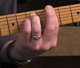 dampening guitar technique