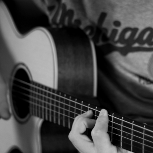 guitar playing posture