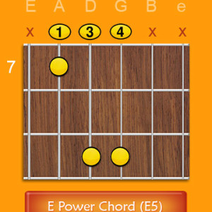 E Power Chord E5